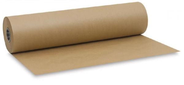 Фотография с маленьким рулончиком крафт-бумаги для привлечения внимания