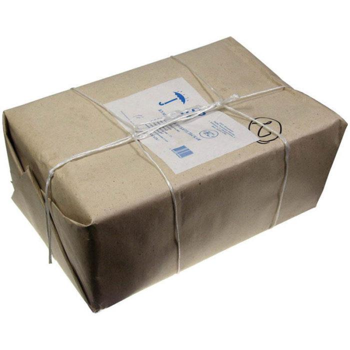 Потребительская бумага Кондопога в заводской упаковке обтянутая полипропиленовым шпагатом, как в СССР обматывали торты