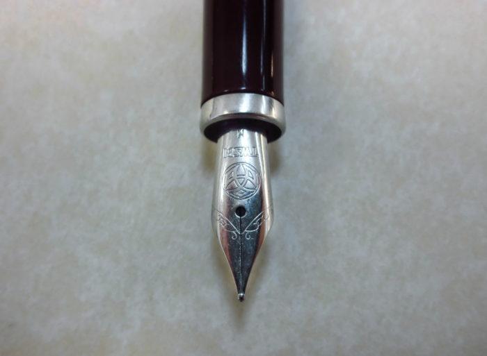 Перо перьевой ручки TWSBI Classic крупным планом