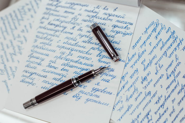 Записи, сделанные перьевой ручкой TWSBI Classic