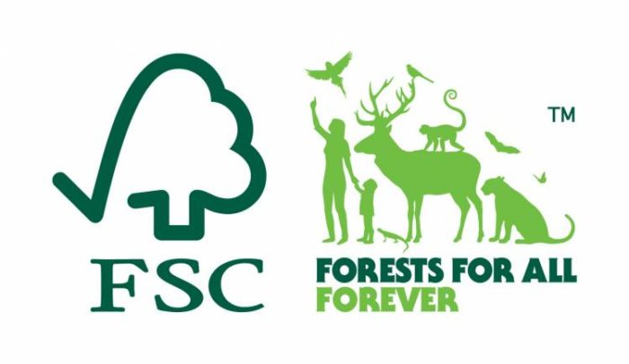 Основной логотип FSC (Forest Stewardship Council)